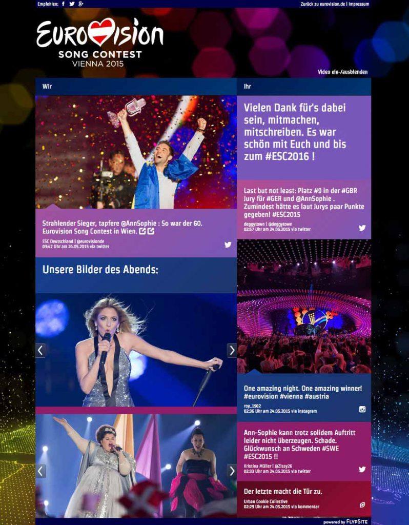 flypsite event eurovision