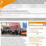 Social-Wall zu Worldskills 2017